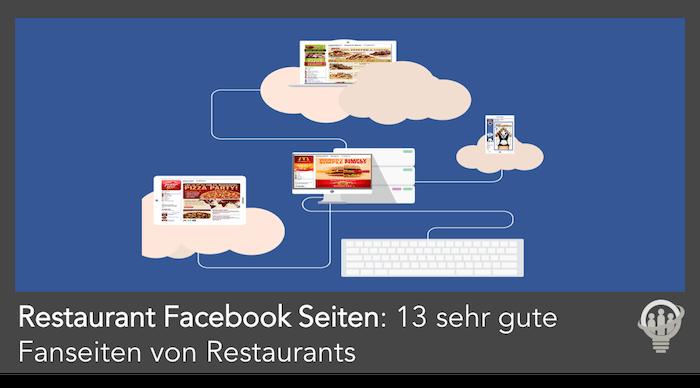 Restaurant Facebook Seiten erstellen