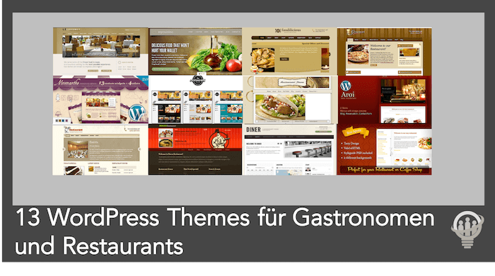 13 Restaurant WordPress Themes Restaurant und Gastronomie