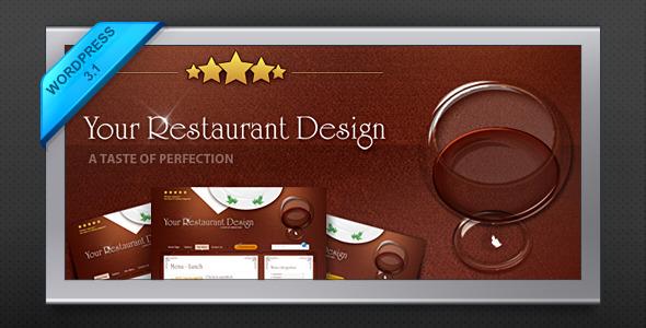Restaurant Design Wordpress Theme : Restaurant wordpress themes tolle gastronomie