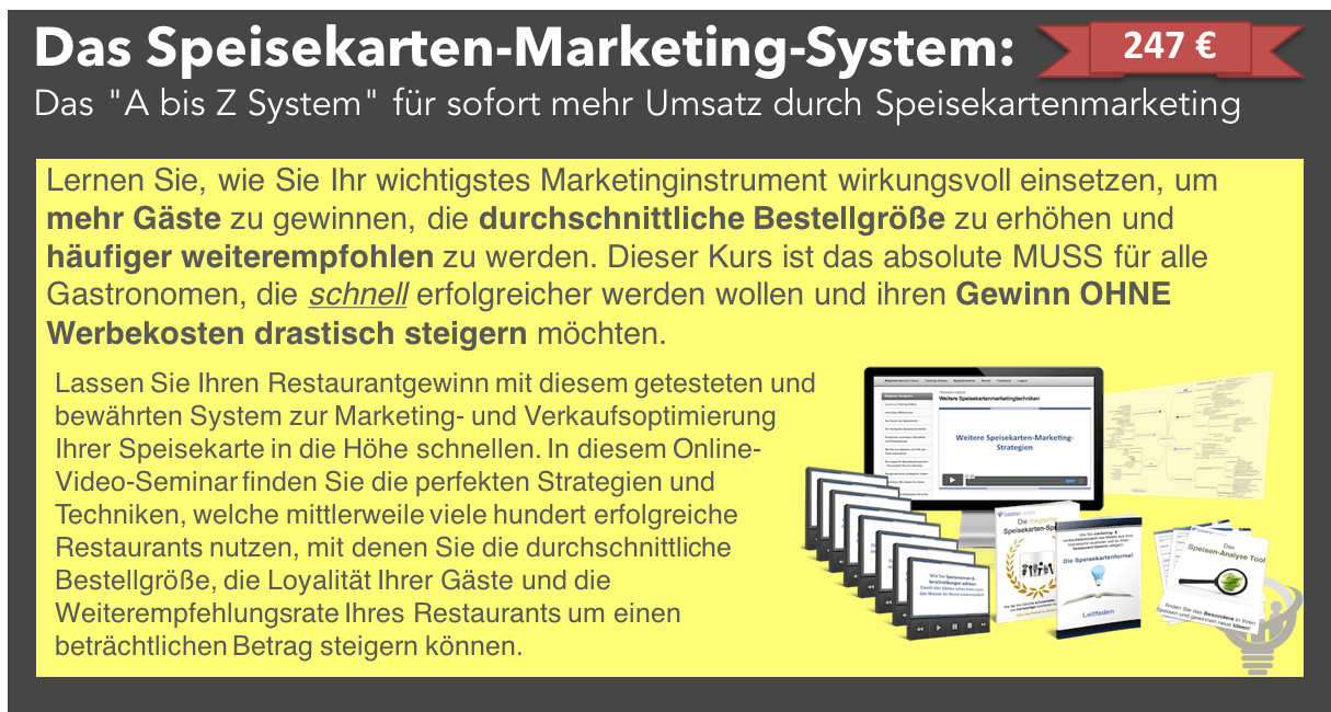 SpeisekartenMarketingSystem