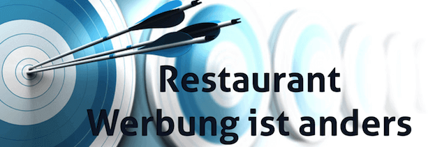 Restaurant Werbung anders