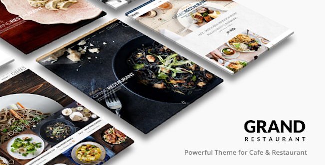 Restaurant WordPress Theme - grand-restaurant